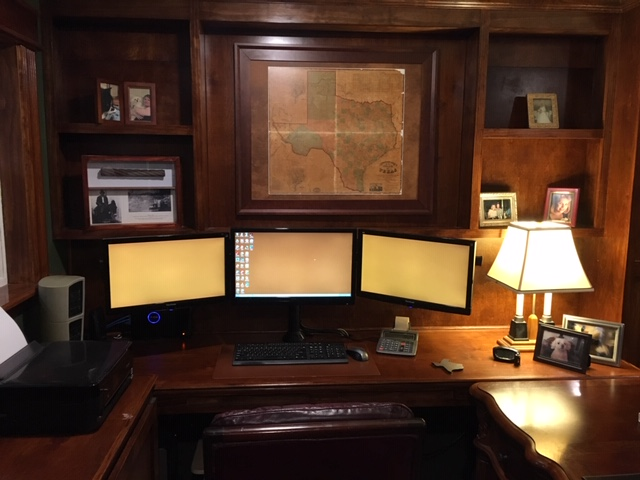 Author's desk